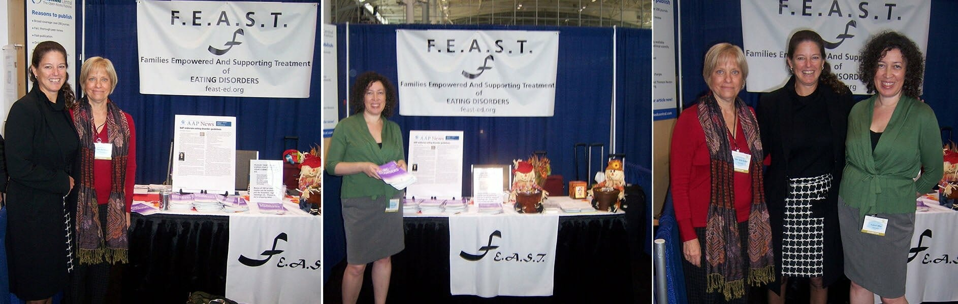 FEAST History NEDA Exhibition 2008 - 2010 Eating Disorder Parent Support