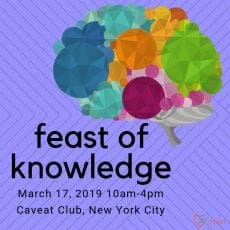 New York City FEAST of Knowledge at Caveat Club