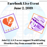 World Eating Disorders Action Day 2019 Facebook Live Event
