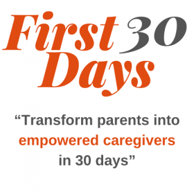 Transform parents in 30 days logo